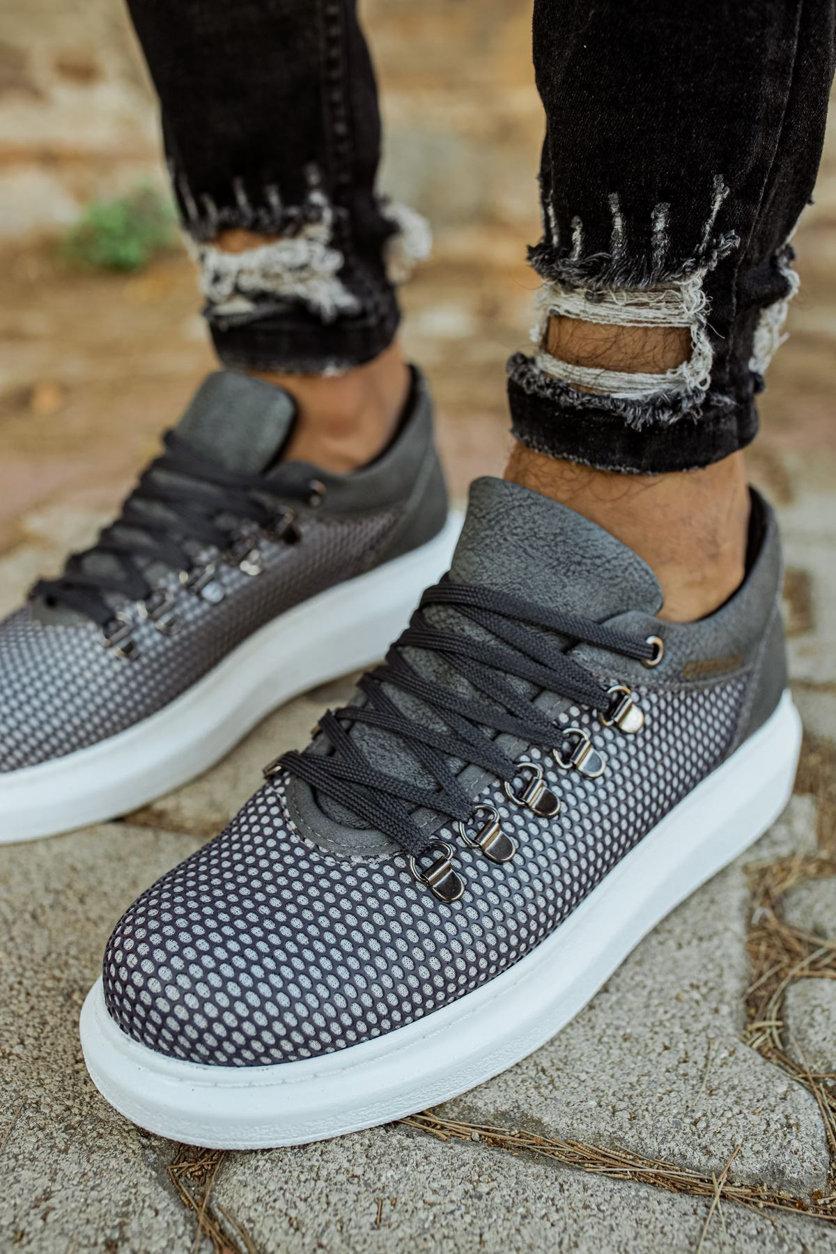 Chekich CH021 YBT Erkek Ayakkabı ANTRASİT