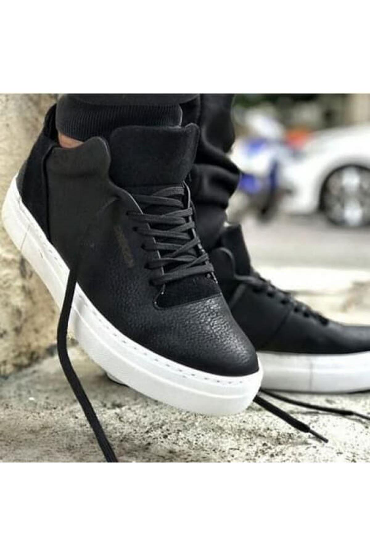 Chekich CH004 BT Erkek Ayakkabı SIYAH