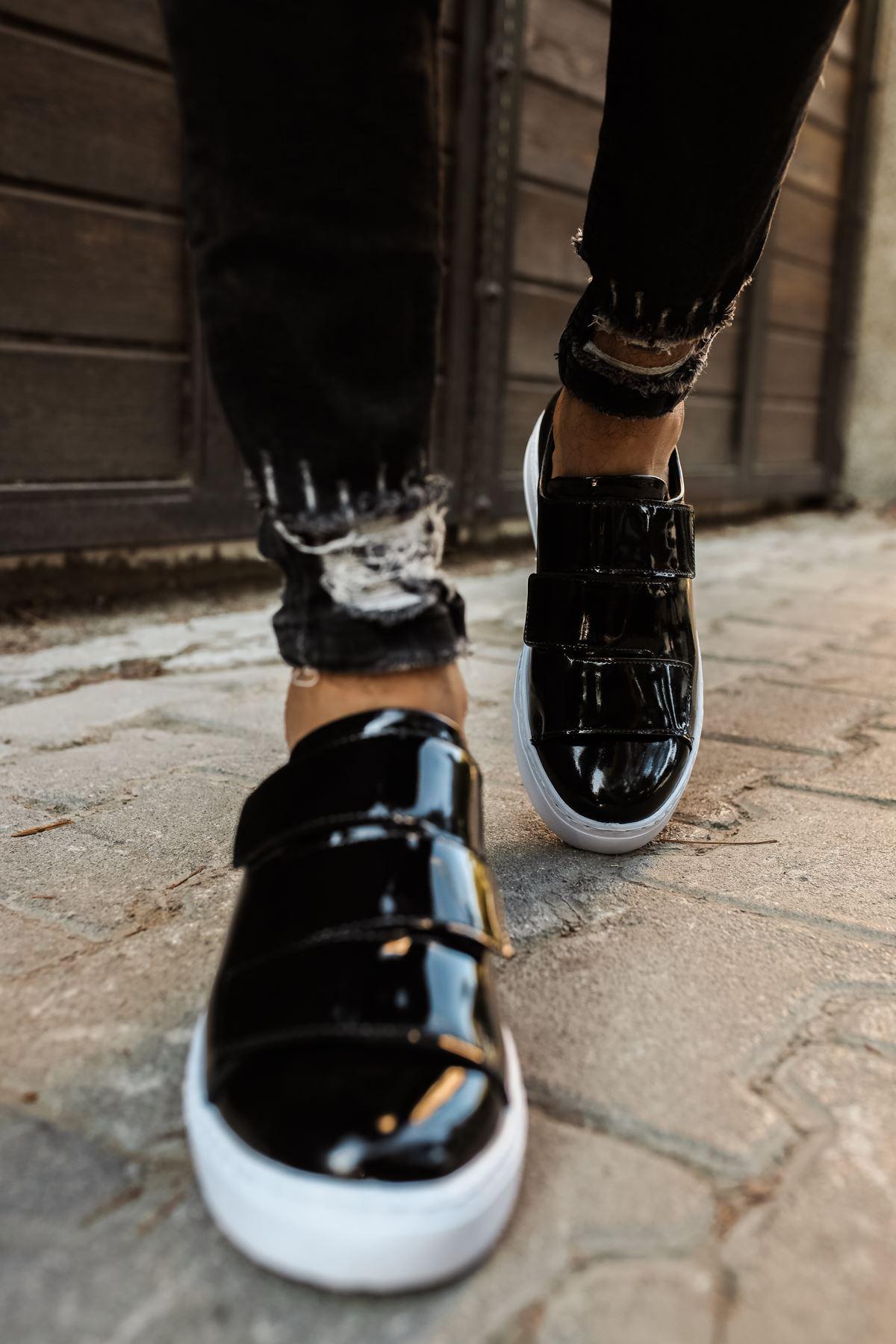 Chekich CH007 Rugan BT Erkek Ayakkabı SIYAH