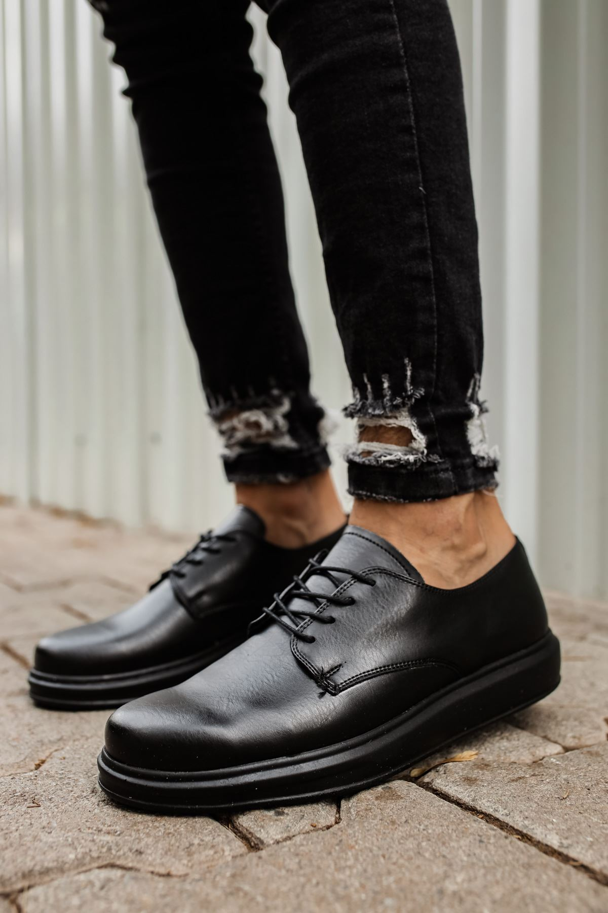 Chekich CH003 ST Erkek Ayakkabı SIYAH