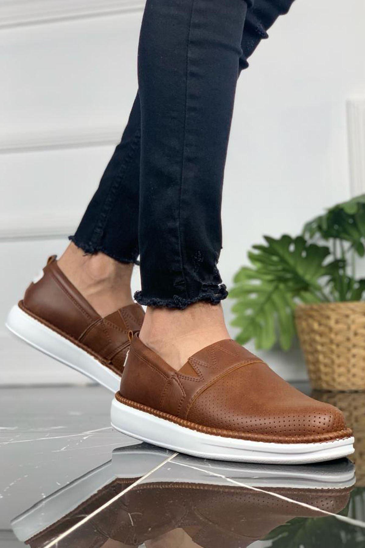 Chekich CH091 BT Erkek Ayakkabı TABA