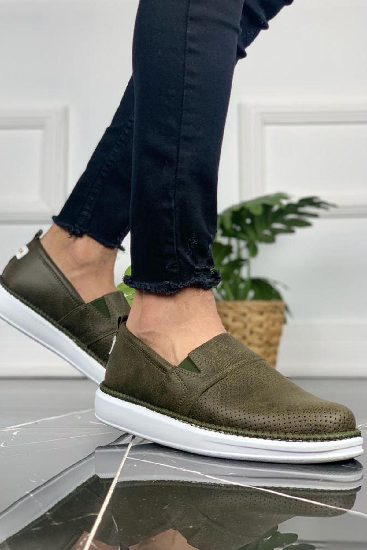 Chekich CH091 BT Erkek Ayakkabı HAKİ