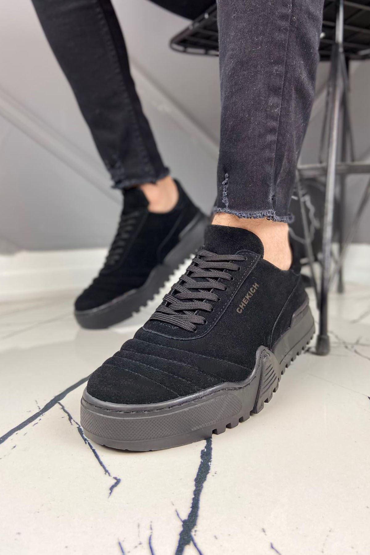 Chekich CH037 ST Erkek Ayakkabı SIYAH