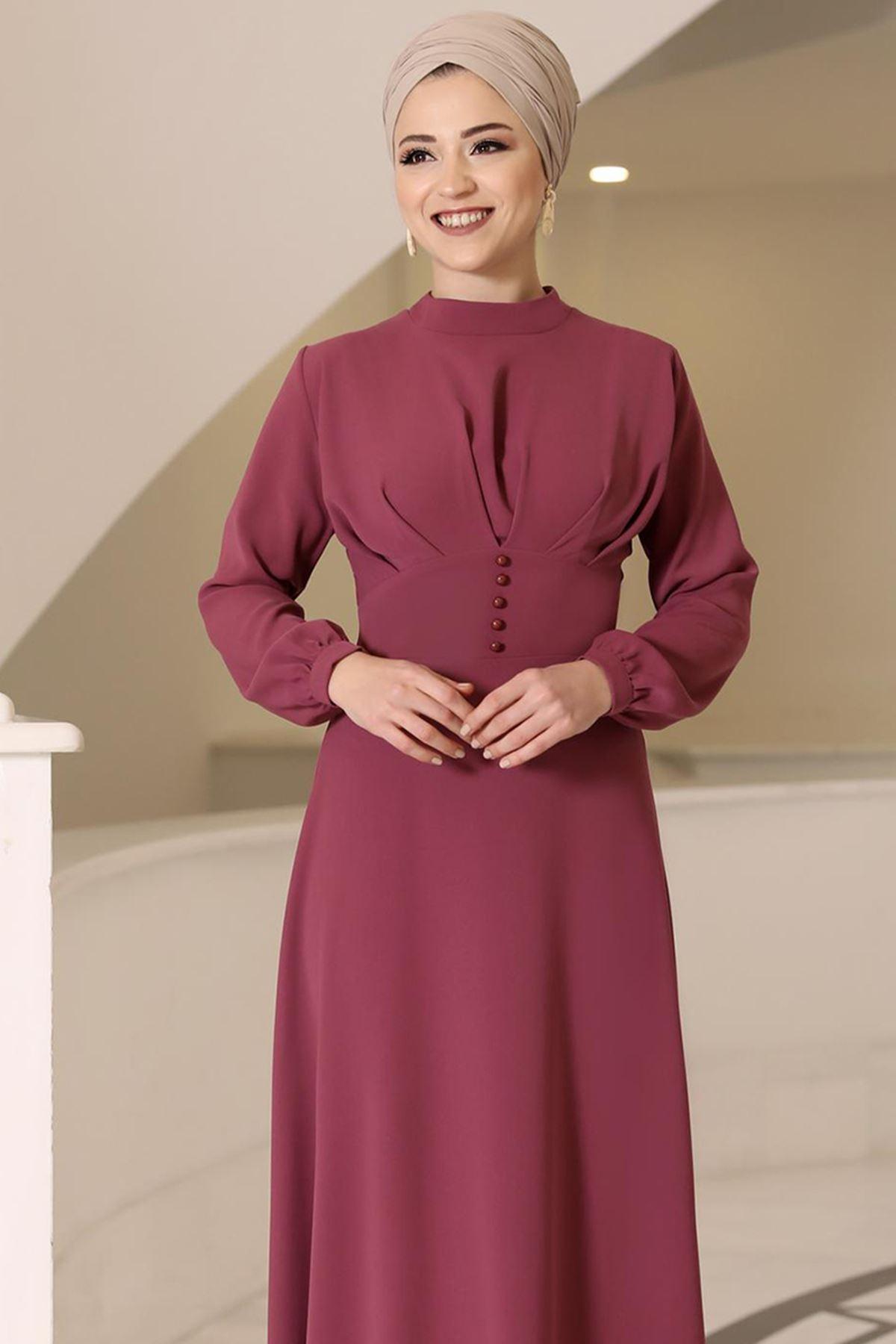 DressLife Ahsen Elbise Gül Kurusu DRE2020