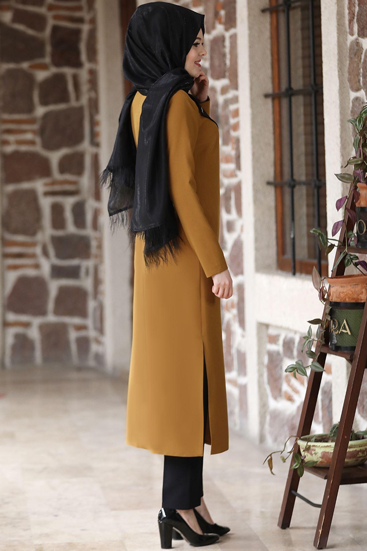 Esmaca Lina İkili Takım Hardal Sarısı ESC10021