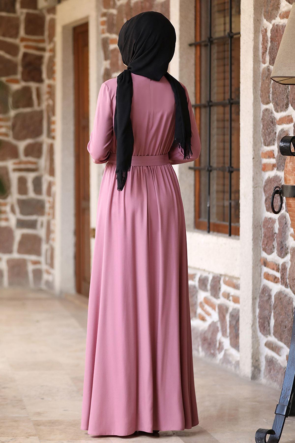 Rana Zenn Ceren Elbise Pudra RAN6929