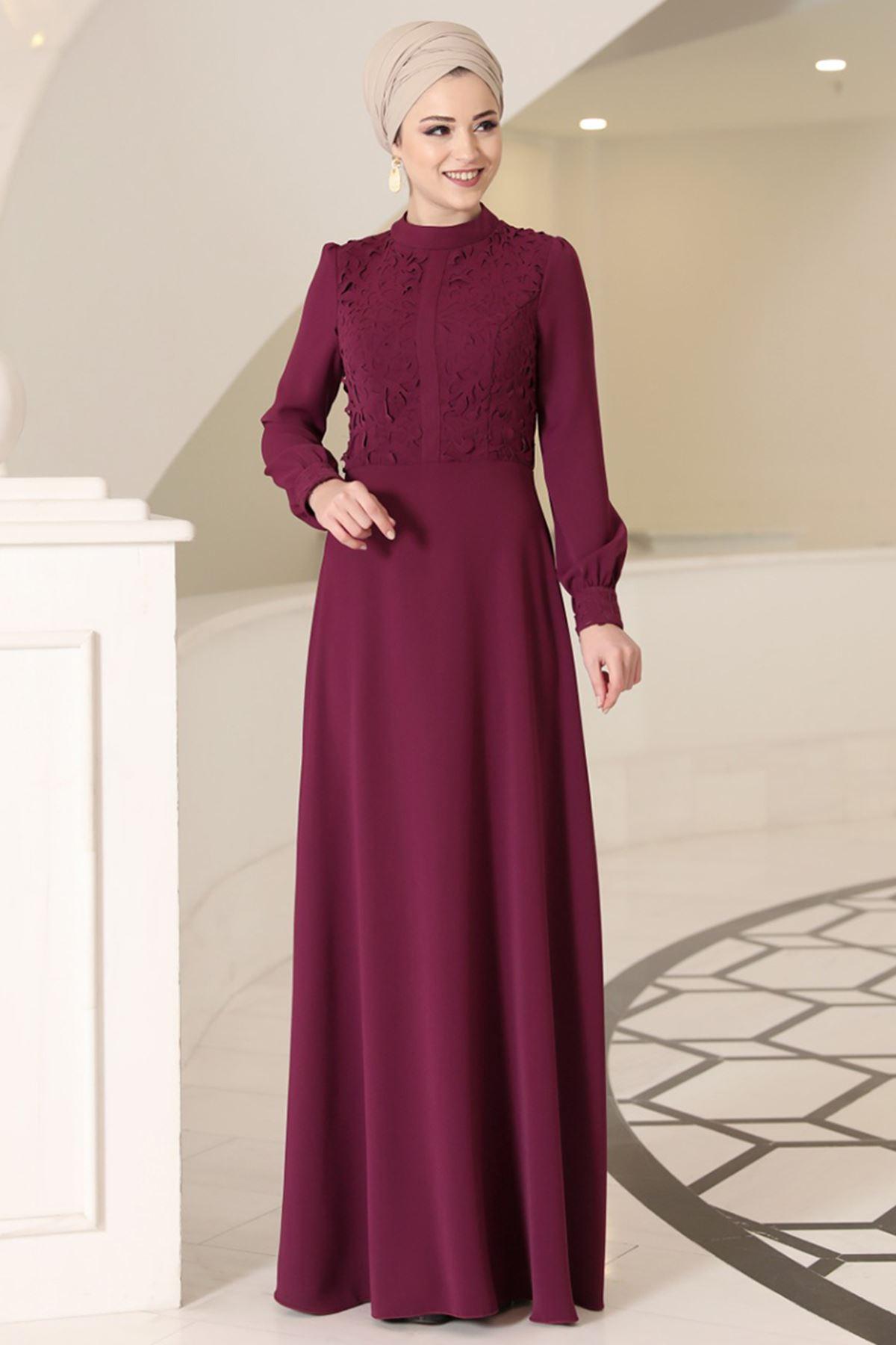 DressLife Mira Elbise Fuşya DRE2022