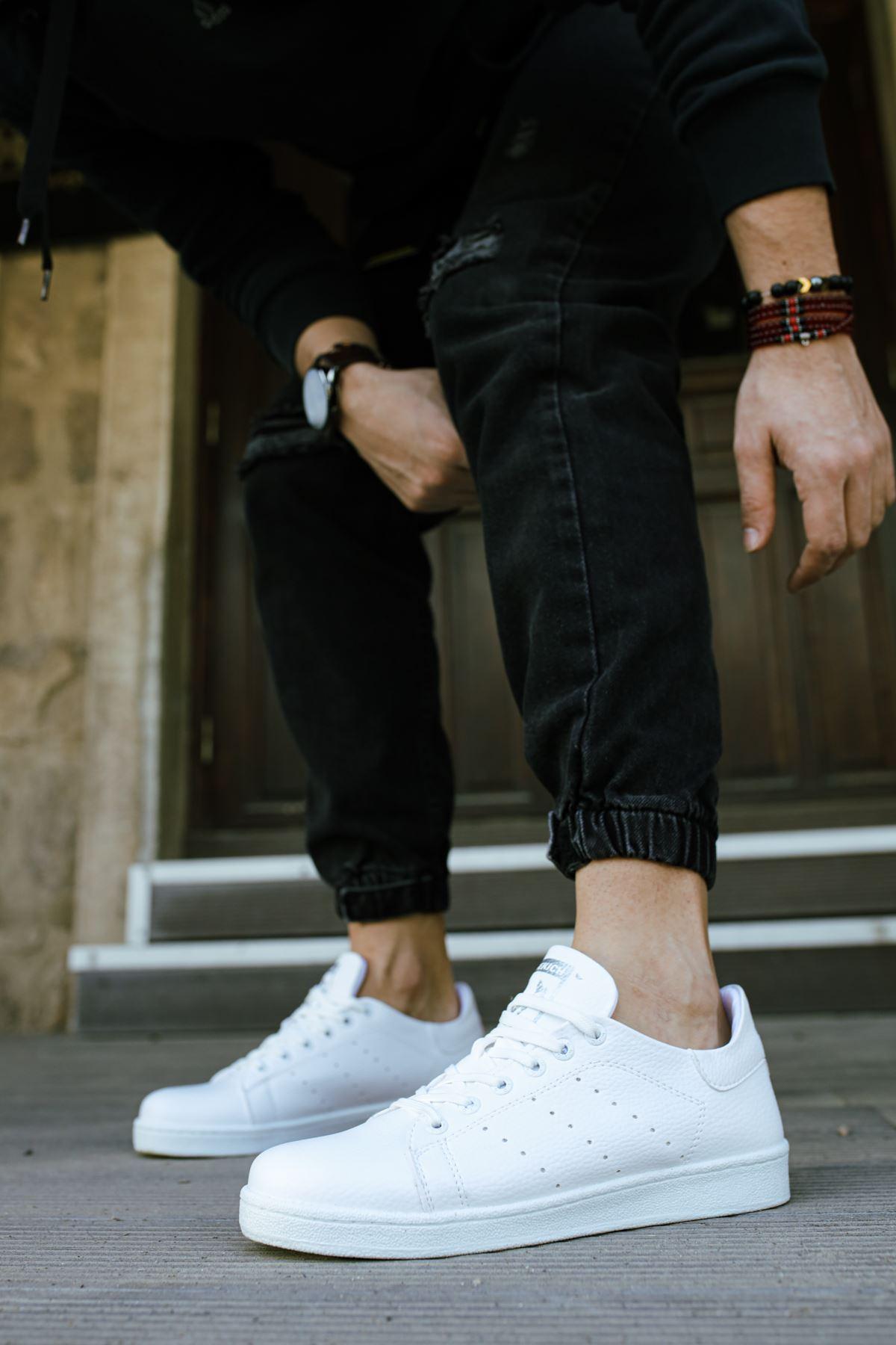 Chekich CH977 BT Erkek Ayakkabı BEYAZ