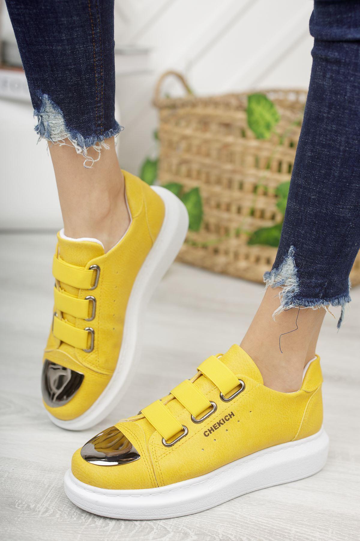 Chekich CH251 BT Kadın Ayakkabı CAMEL