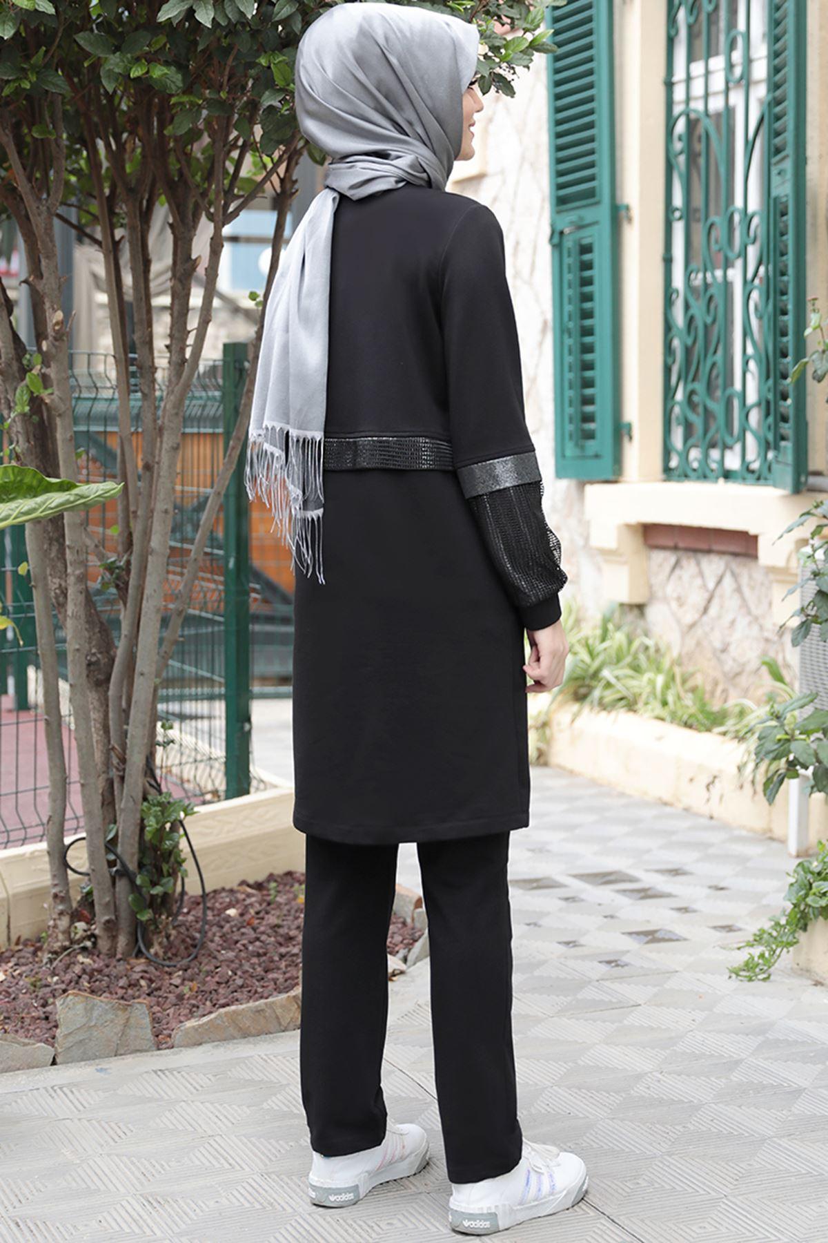 Emsale Zen İkili Takım Siyah EMS8325