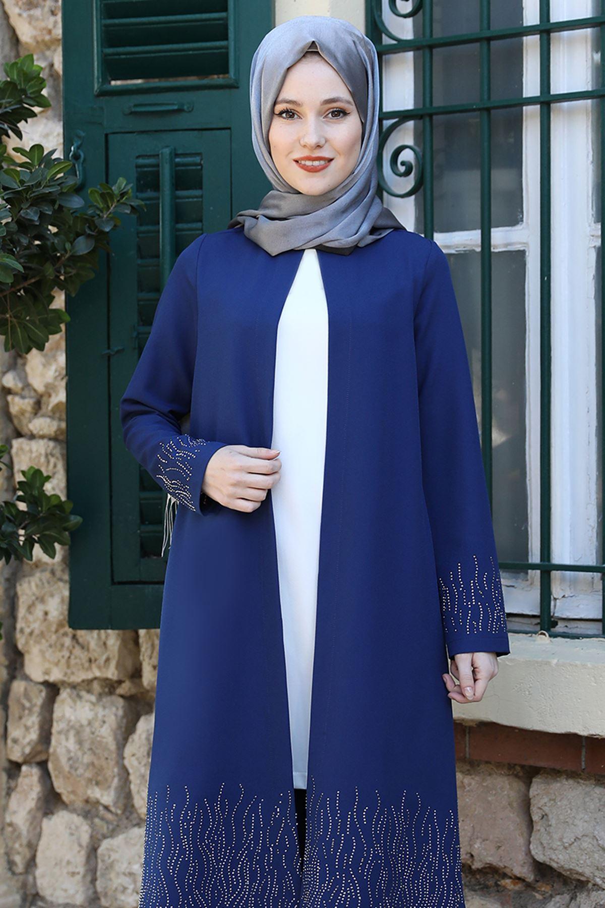 Emsale Esila İkili Takım İndigo EMS8327