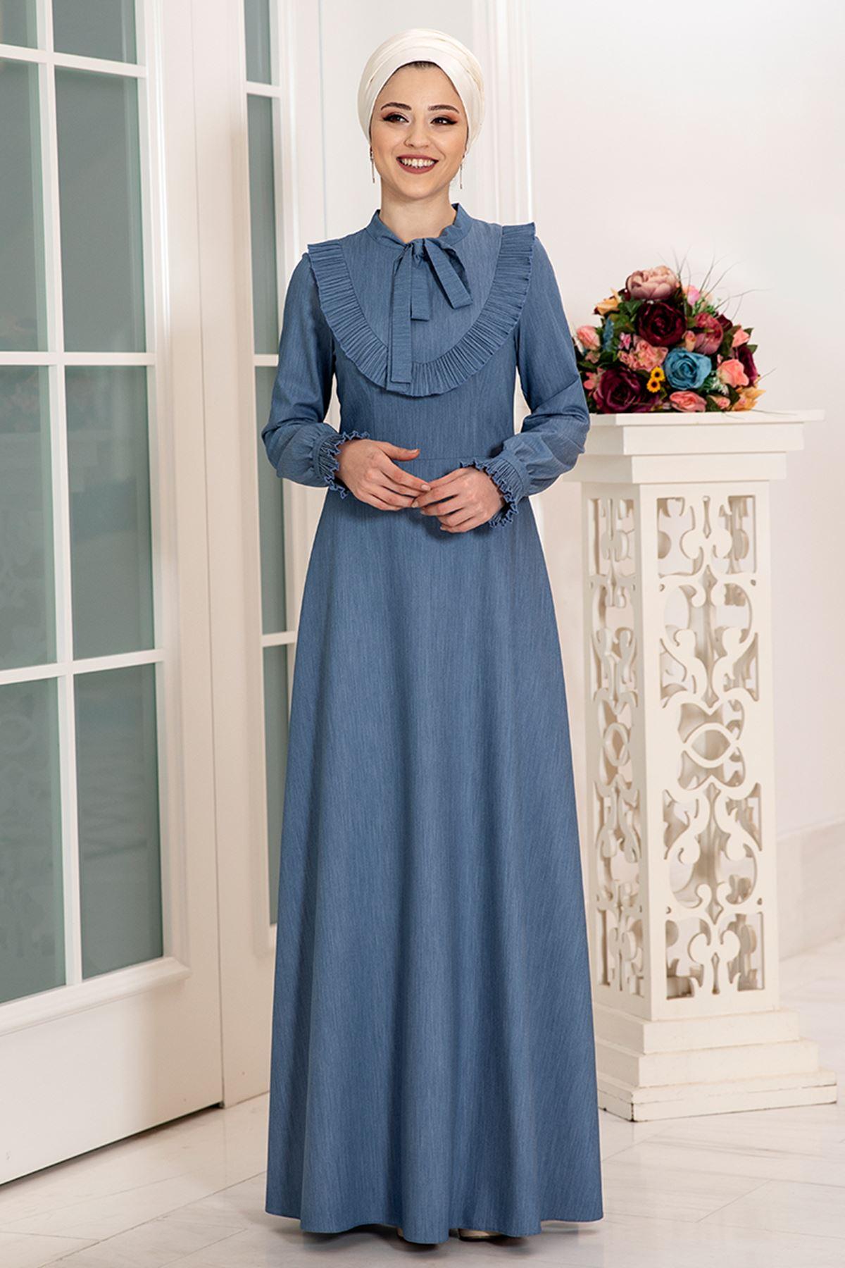 Dresslife Irmak Kot Elbise DRE2009