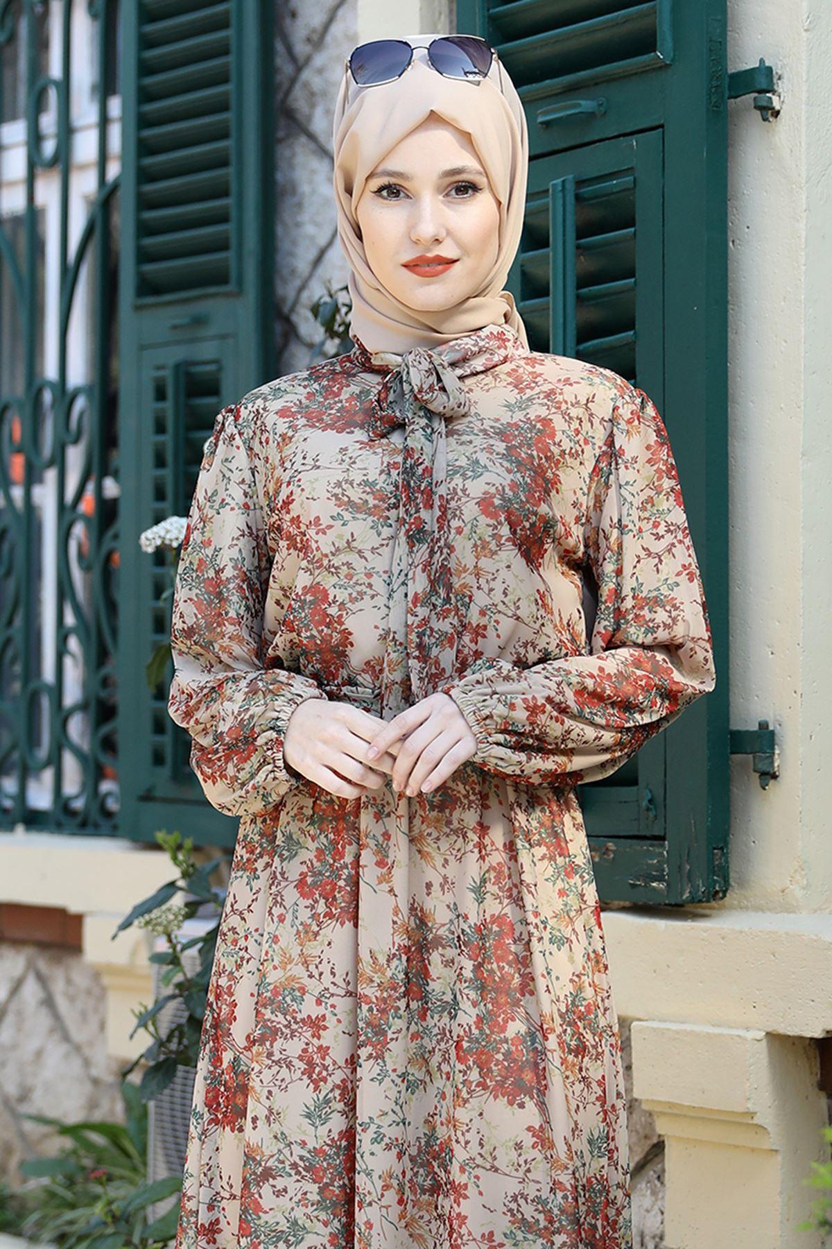 Emsale Lorin Elbise Vizon EMS8331