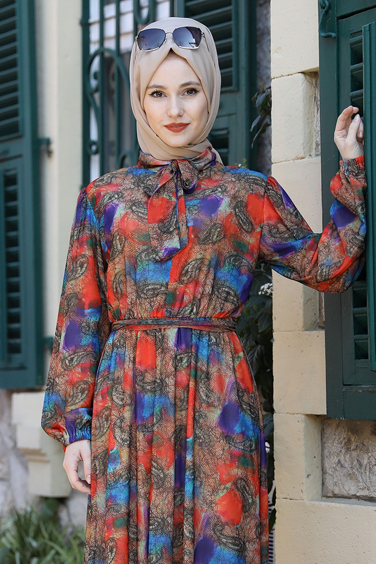 Emsale Lorin Elbise Narçiçeği EMS8331