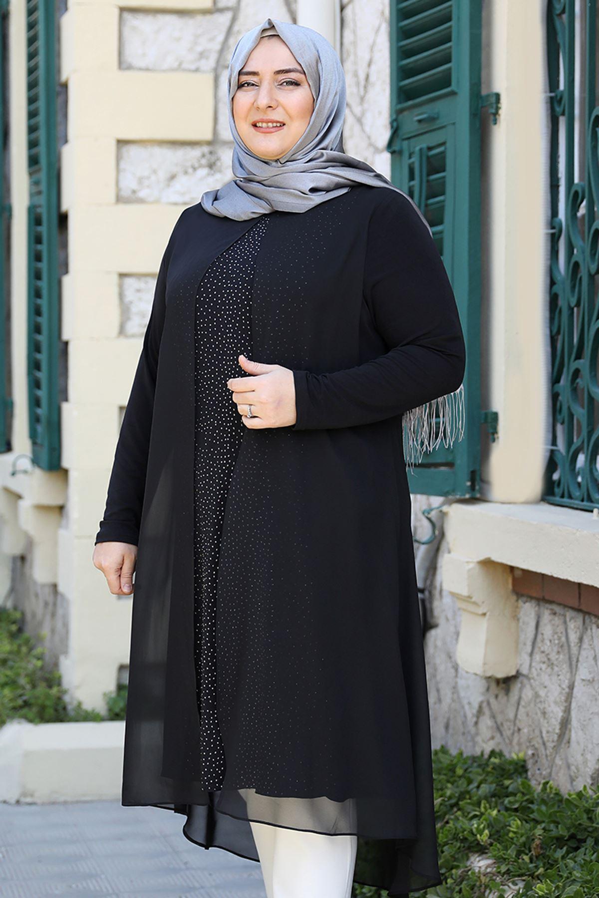 Emsale Efsun Tunik Siyah EMS8336