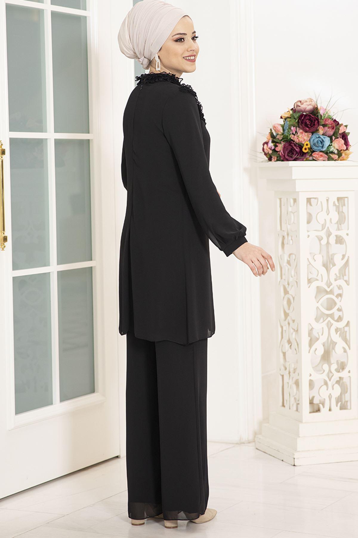 DressLife  Burçak İkili Takım Siyah DRE2024
