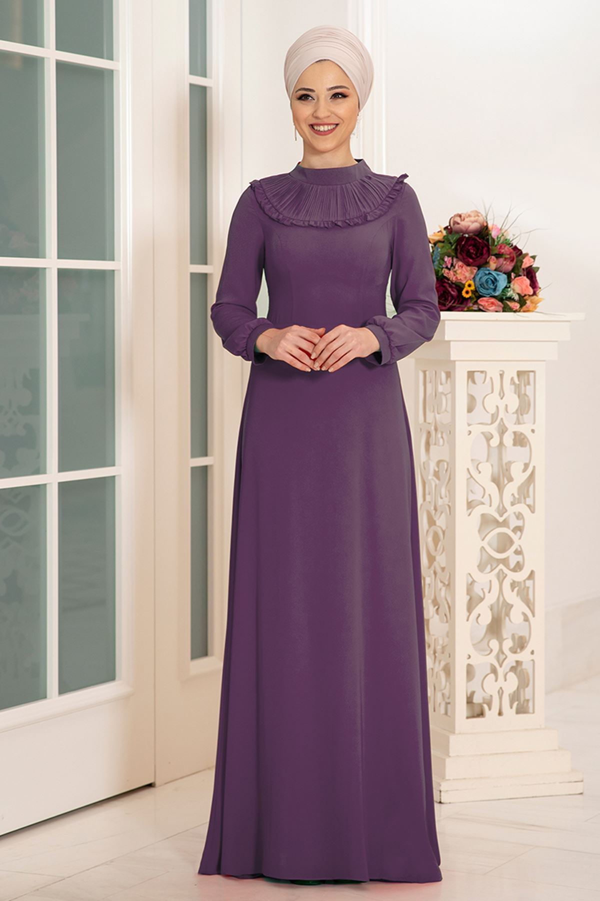 DressLife  Selin Elbise Leylak DRE2027
