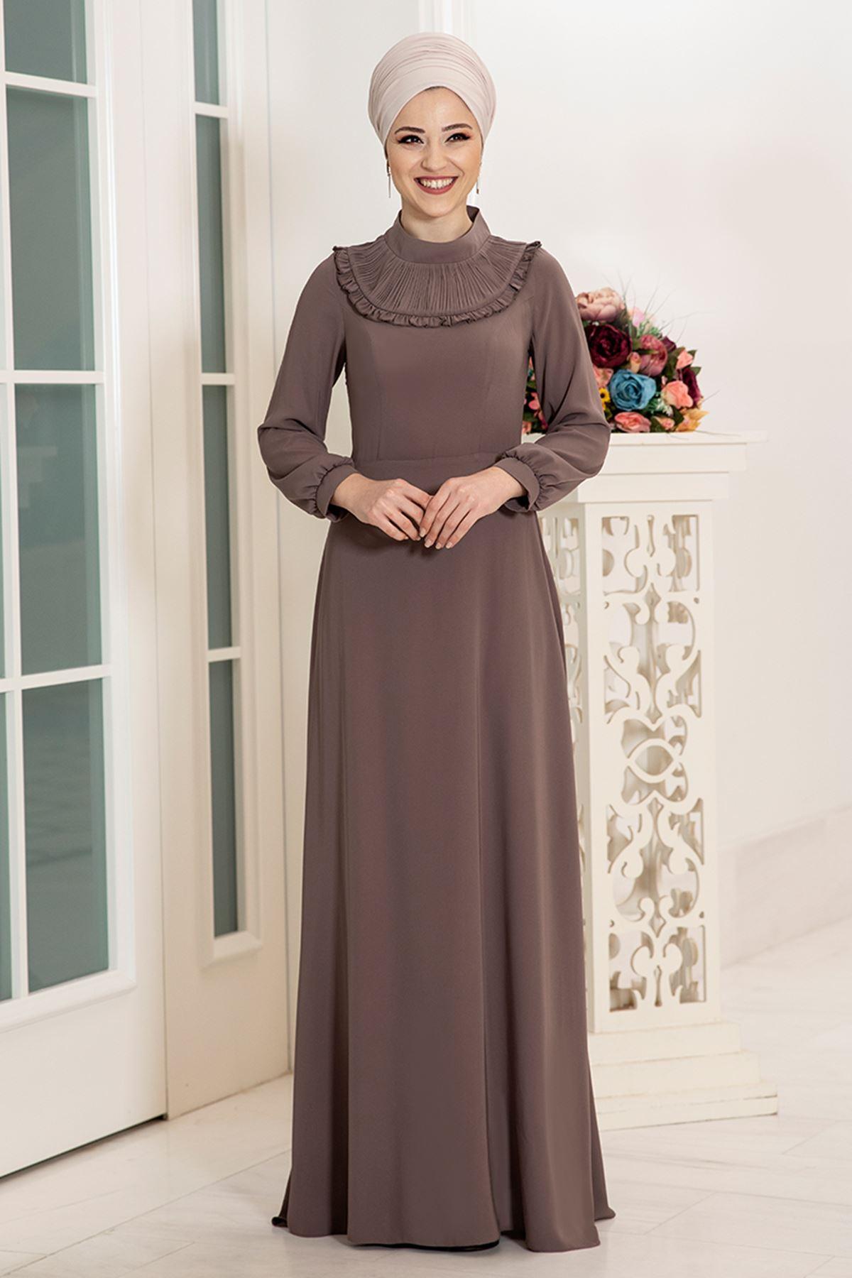 DressLife  Selin Elbise Vizon DRE2027