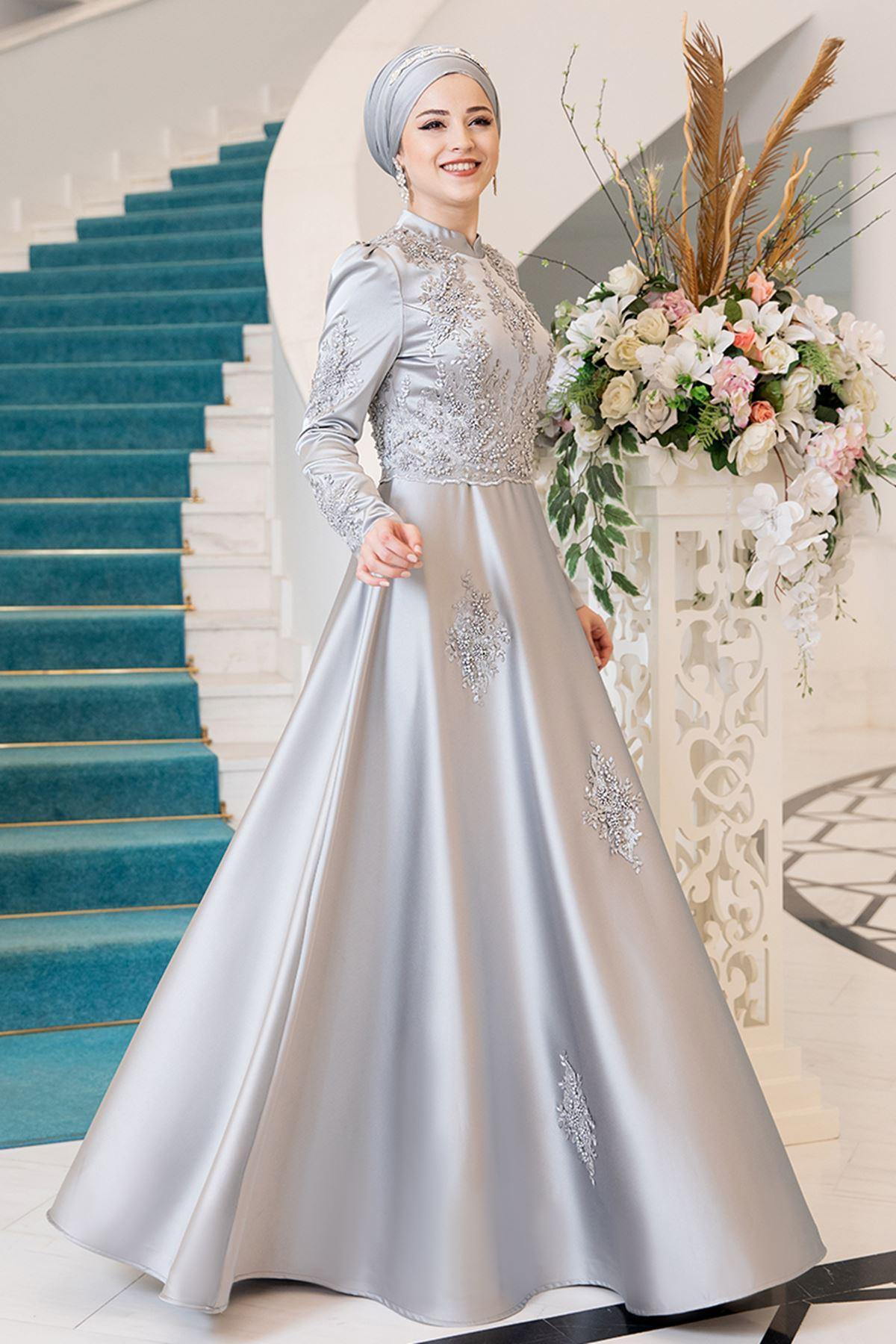 Al Marah Lina Abiye Gri ALM3013