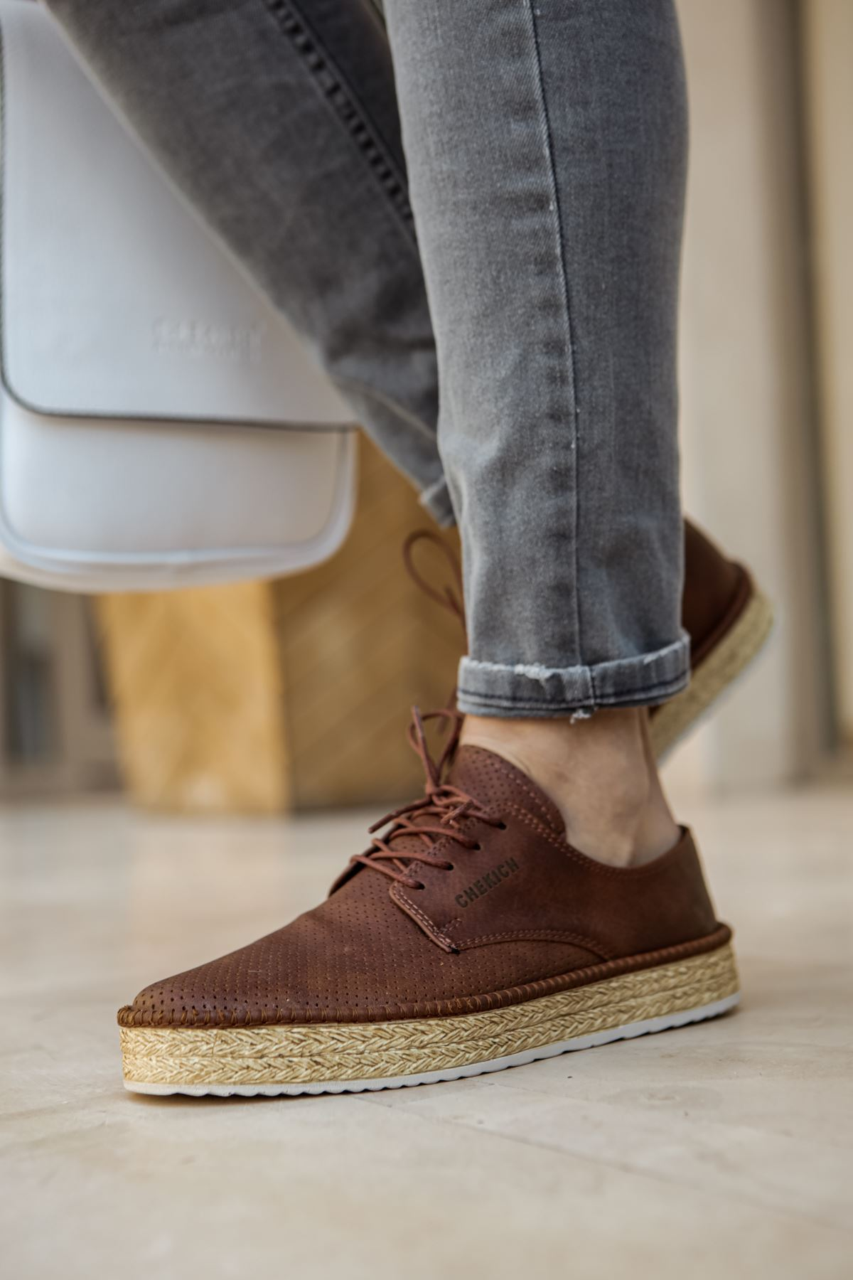Chekich CH117 BT Erkek Ayakkabı TABA