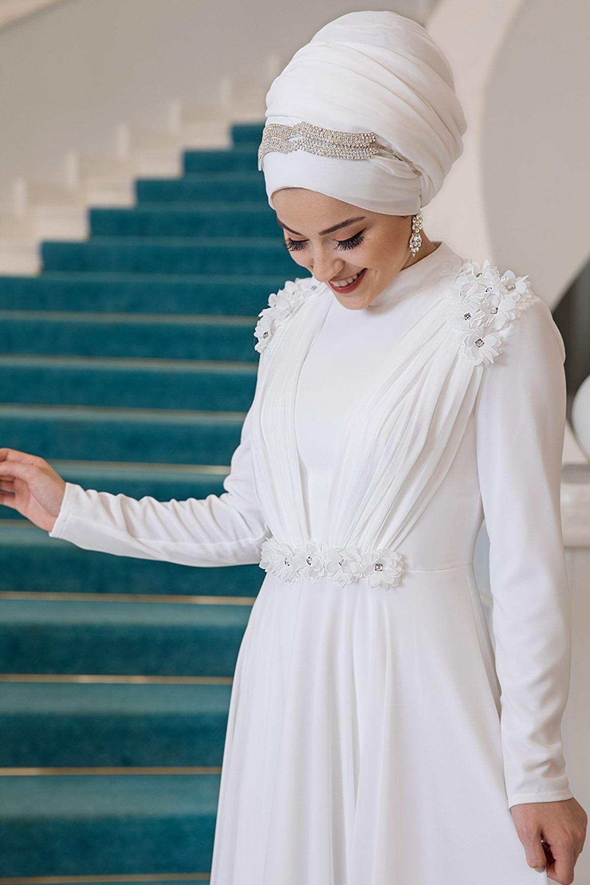 Al Marah Asya Abiye Ekru ALM3014