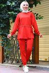 İkili Eşofman Takım Kırmızı