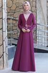 Semra Aydın Firuze Elbise Gül Kurusu SMR4302