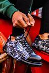 Chekich CH254 ST Erkek Ayakkabı 480  MAVİ / BEYAZ GRAFİTİ