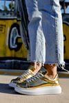 Chekich CH260 BT Kadın Ayakkabı ALTIN