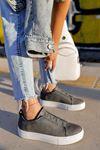 Chekich CH011 BT Kadın Ayakkabı ANTRASİT