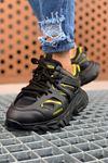 Chekich CH301 ST Erkek Ayakkabı SİYAH - SARI