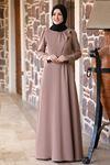 Rana Zenn Begüm Elbise Vizon RAN6928