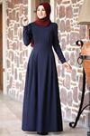 Rana Zenn Öykü Elbise Lacivert  RAN6930