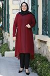 Emsale Efsun Tunik Bordo EMS8336